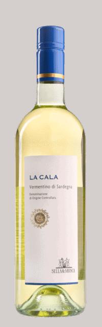 La Cala Vermentino di Sardegna DOC bottle