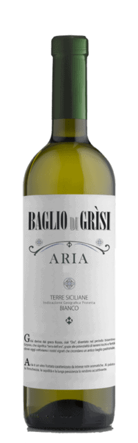 Aria Terre Siciliane IGT bottle