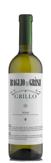 Grillo Sicilia DOC bottle