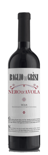 Nero d'Avola  Sicilia DOC bottle