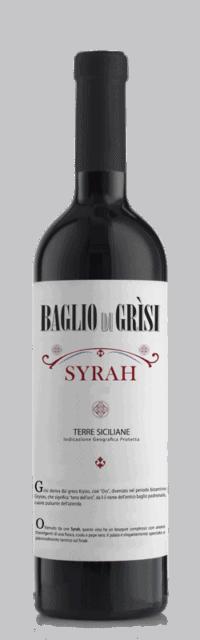 Syrah Terre Siciliane IGT bottle