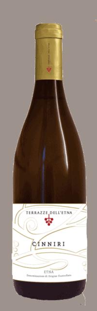 Cinniri Etna Bianco DOC bottle