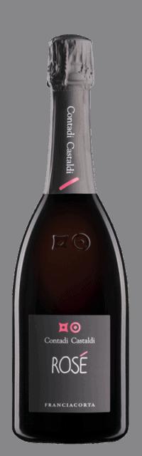 Rosé  Franciacorta DOCG bottle