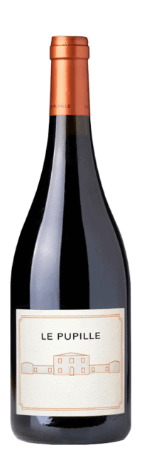 Le Pupille Syrah Toscana IGT bottle