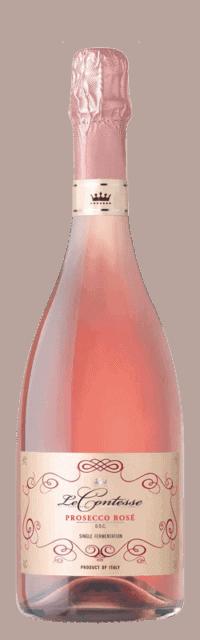 Prosecco Rosé DOC bottle